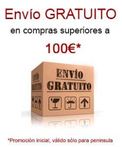 envío gratuito mas de 100 euros