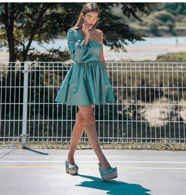 Sea Heart Dress Guts&Love - SEVEN TIMES - PALENCIA