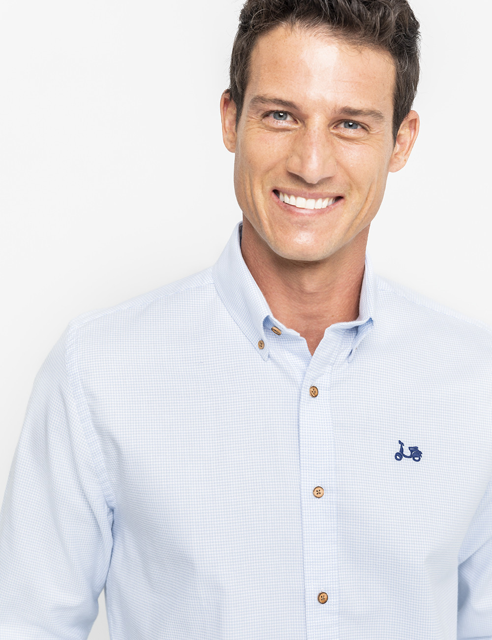 camisa-gallo-sport-celeste Scotta Seventimes