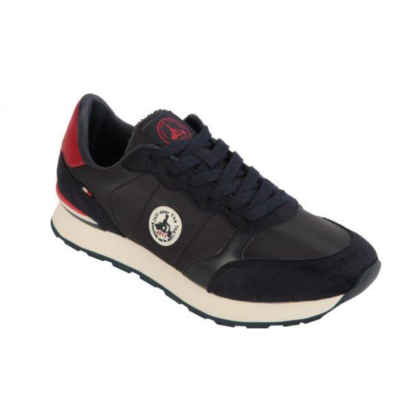 shoes-man-marine-baskets-homme-run J.O.T.T. Seventime