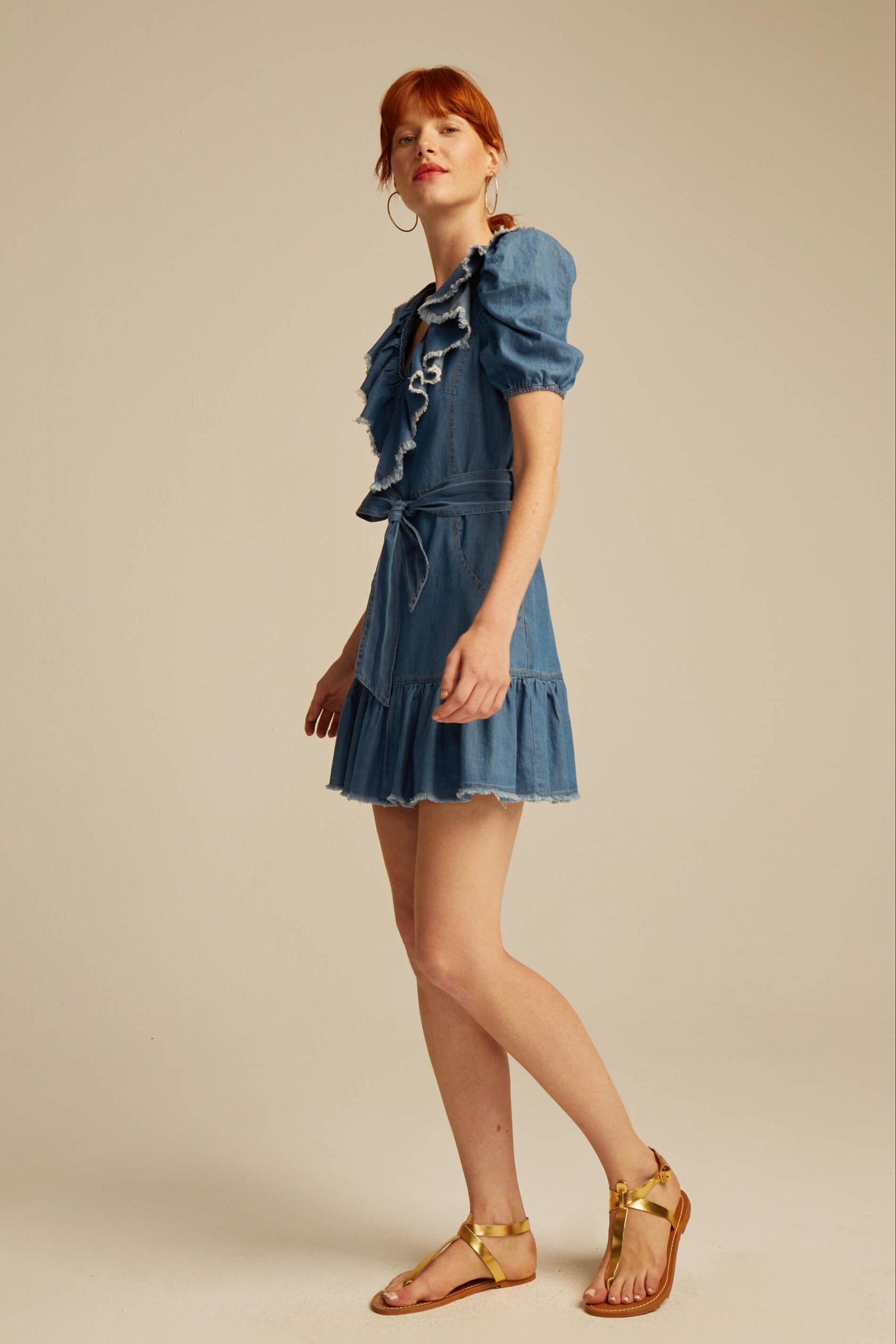 -vestido-norma-azul-Seven Times