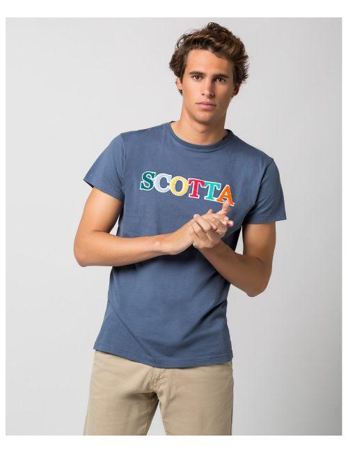 camiseta-chenille-denim SCOTTA SEVEN TIMES
