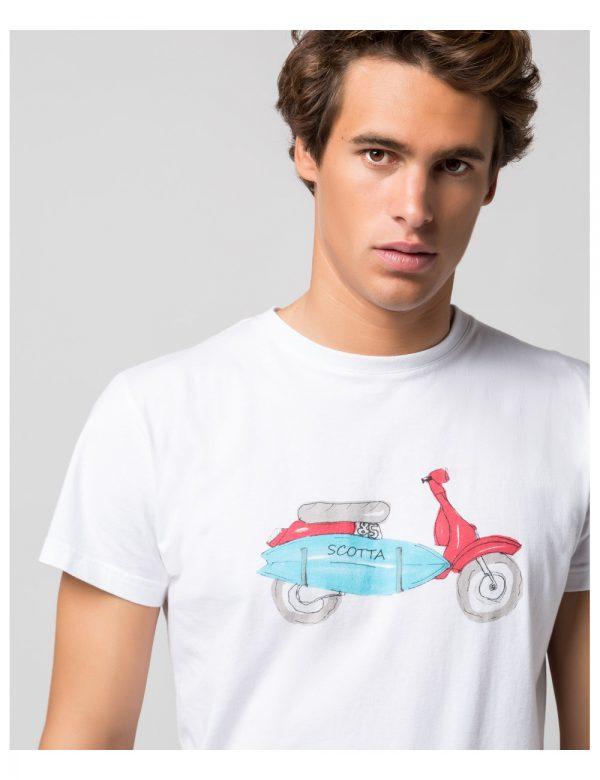 camiseta-moto-surf-blanco scotta seven times