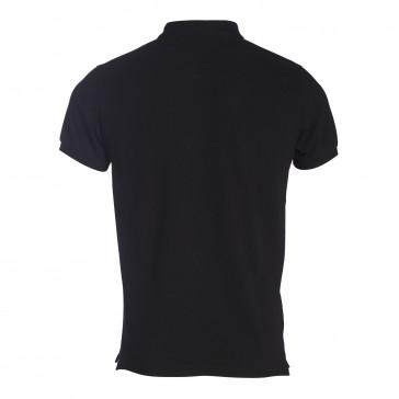 polo-t-shirt-man-noir-cherbourg-polo-basique jott seven times