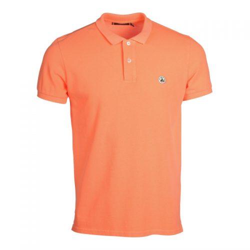 polo-t-shirt-man-orange-fluo-cherbourg-polo-basique JOTT SEVEN TIMES