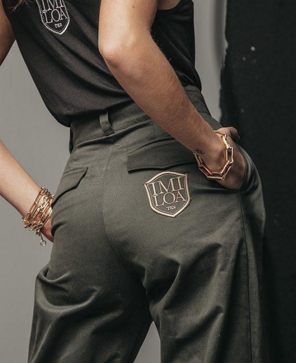green-cargo-pants Imiloa Seven times