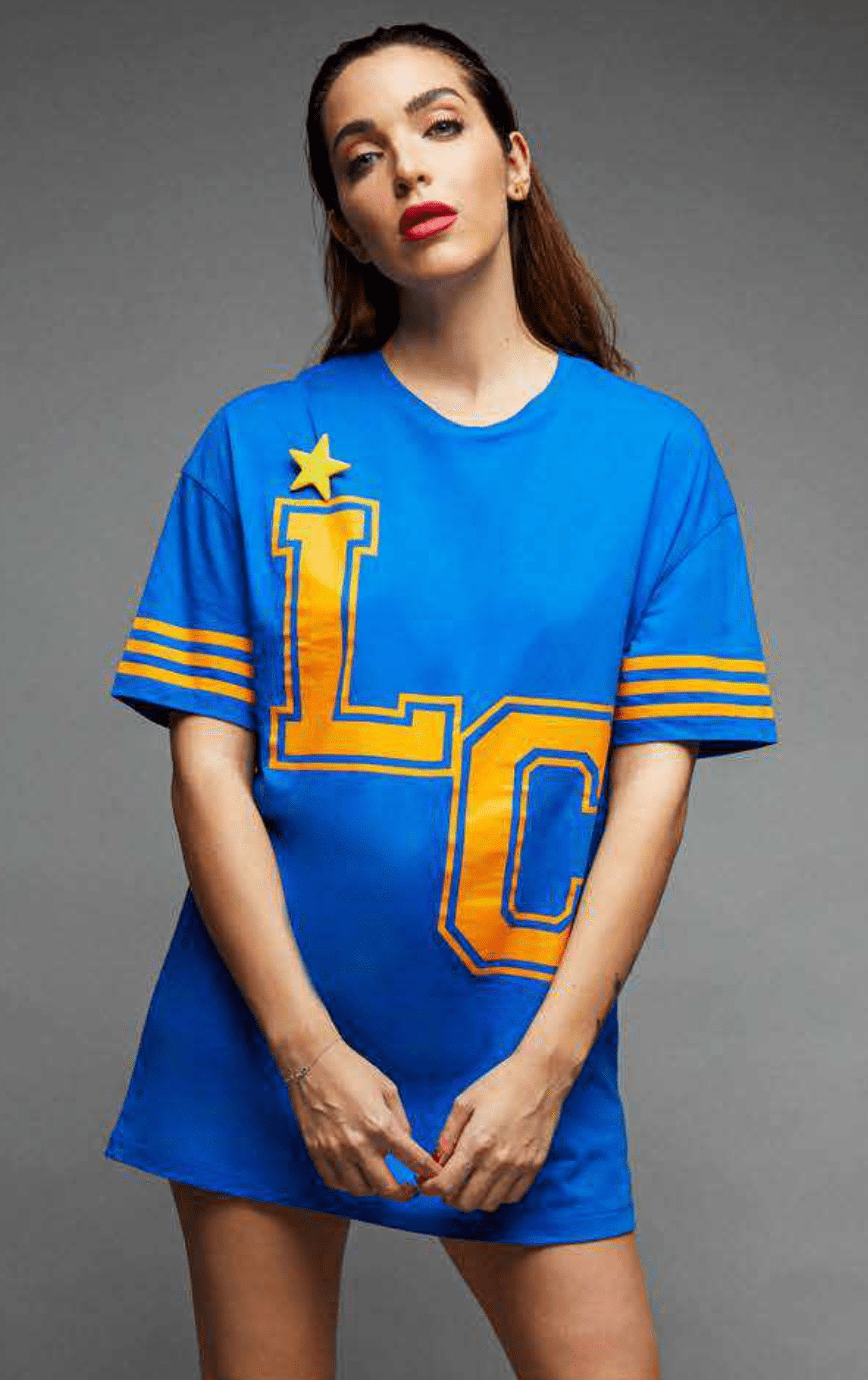Camiseta futbol vestido Le Cruel Seve Times