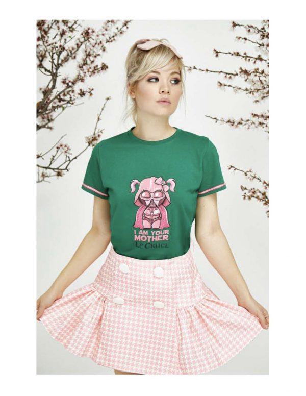 camiseta-le-cruel-im-your-mother-verde Seven Time