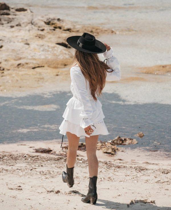 vestido-de-lino Imiloa Seven Times