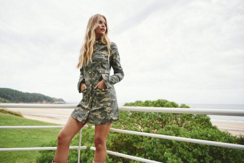 Flor de lis fetiche dress-SevenTimes