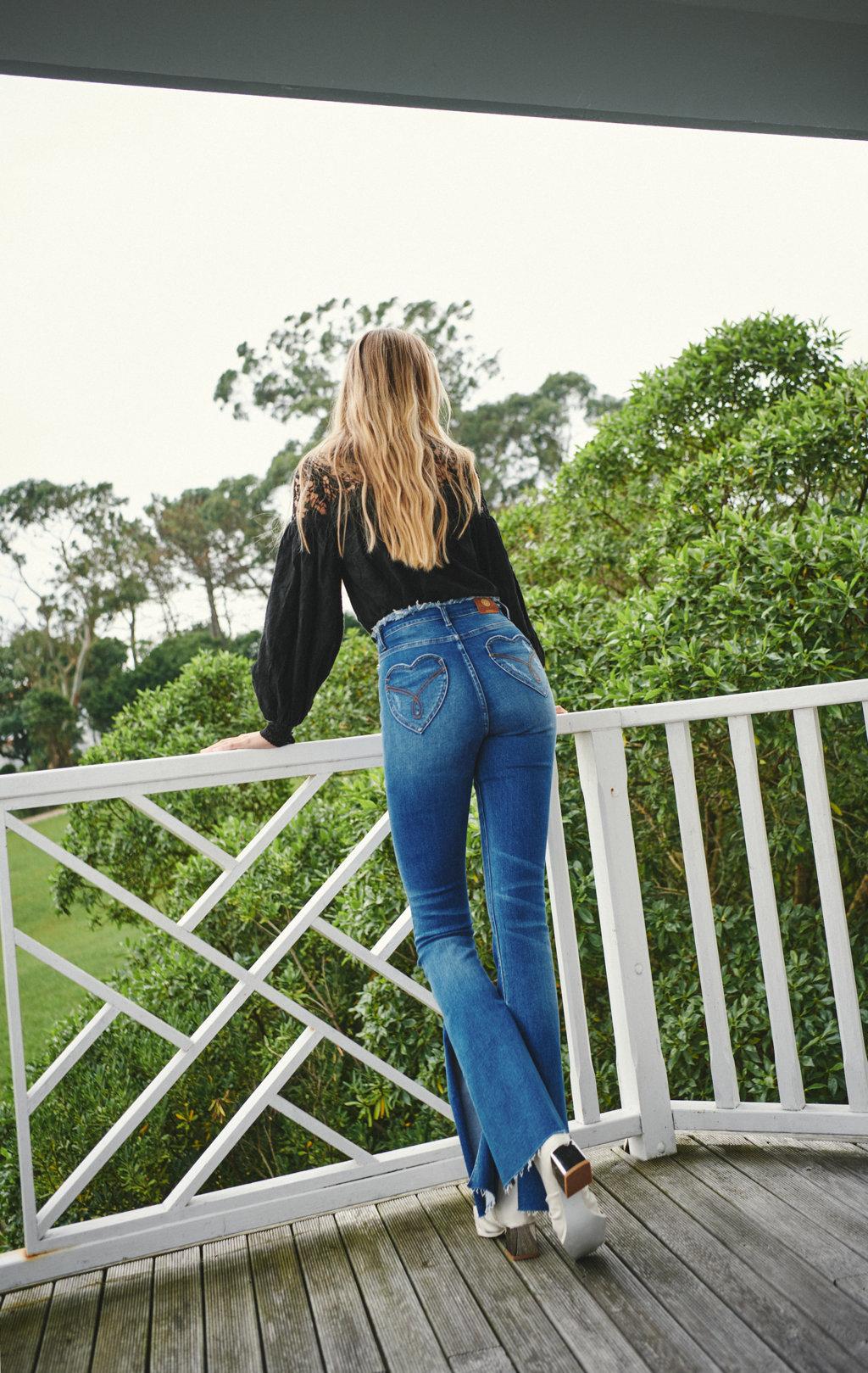 Heart jeans fetiche suances-SevenTimes