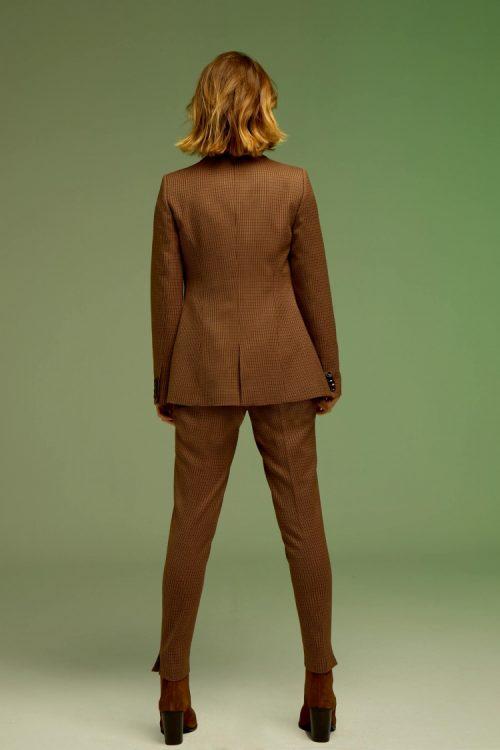 blazer-nina-marron seven times andmeunliimited