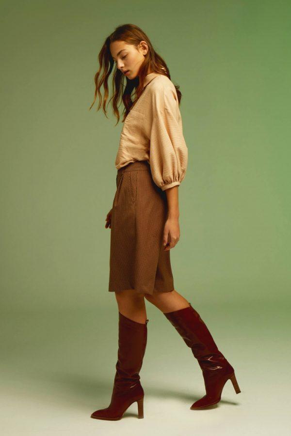 pantalon-nina-marron seventimes andmeunlimited