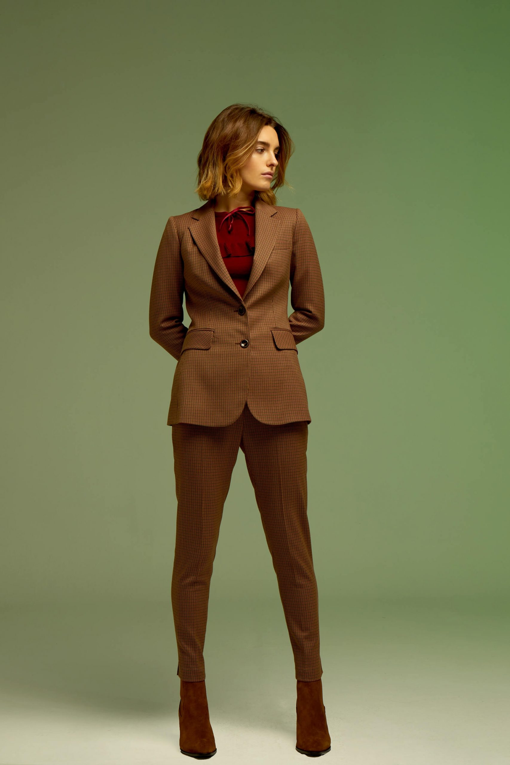 pantalon-tally-marron seven times andmeunlimited