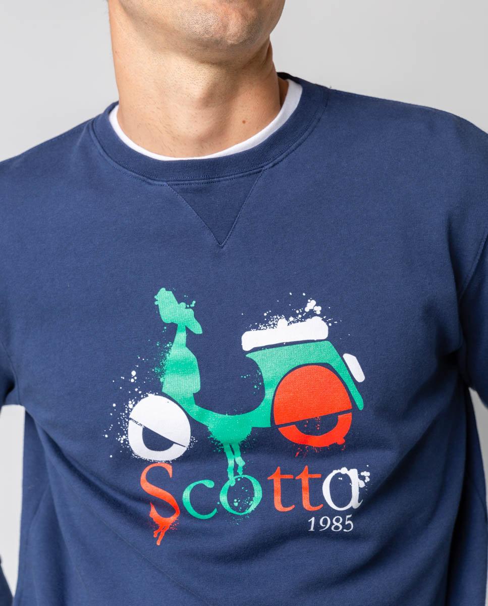 sudadera logo spray scotta-SevenTimes