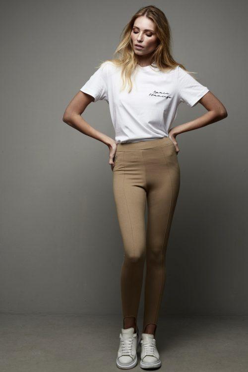 legging camel space flamingo -SevenTimes
